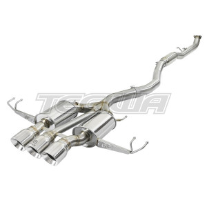 "AFE TAKEDA 3"" STAINLESS STEEL CATBACK EXHAUST HONDA CIVIC FK8 TYPE R 17+"