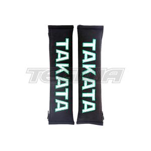 "TAKATA 2"" HARNESS SHOULDER PADS BLACK"
