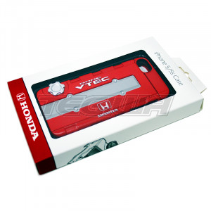 GENUINE HONDA B-SERIES TYPE R RED CAM COVER IPHONE 5 CASE