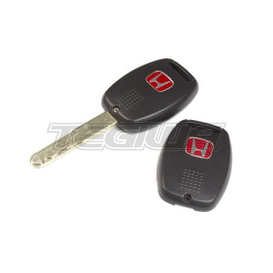 HONDA RED H KEY BACK COVER CIVIC FN2 FD2 07-11