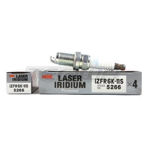 NGK LASER IRIDIUM SPARK PLUGS HONDA CIVIC 1.8 R18 IZFR6K-11S