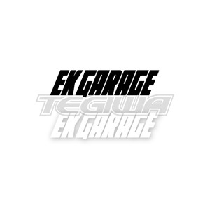 EK GARAGE OFFICIAL STICKER DECAL 20CM