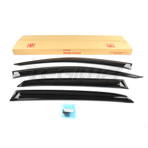 GENUINE HONDA ACCESS WINDOW VISORS WIND DEFLECTORS CIVIC FK8 INC TYPE R 17+