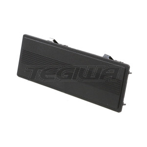 GENUINE HONDA SINGLE DIN RADIO BLOCK OFF PLATE COVER