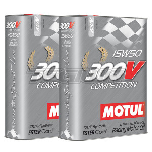 MOTUL 300V COMPETITION 15W50 SYNTHETIC ENGINE OIL