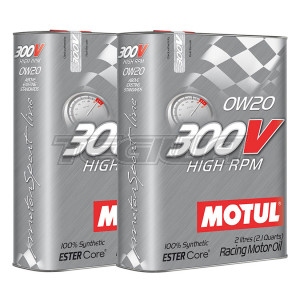 MOTUL 300V HIGH RPM 0W20 SYNTHETIC ENGINE OIL