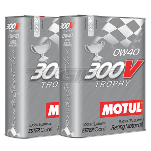 MOTUL 300V TROPHY 0W40 SYNTHETIC ENGINE OIL