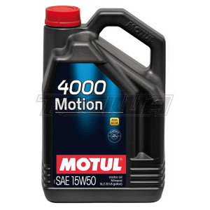 MOTUL 4000 MOTION 15W50 MINERAL ENGINE OIL