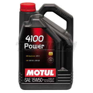 MOTUL 4100 POWER 15W50 TECHNOSYNTHESE ENGINE OIL