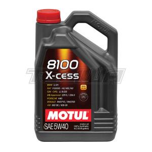 MOTUL 8100 X-CESS 5W40 SYNTHETIC ENGINE OIL