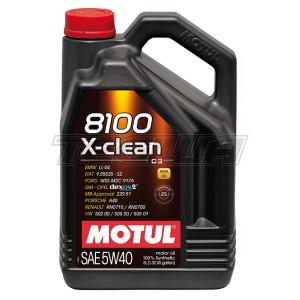 MOTUL 8100 X-CLEAN 5W40 SYNTHETIC ENGINE OIL