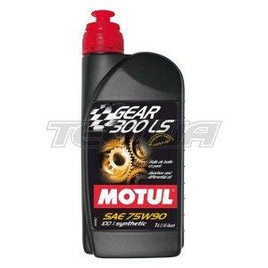 MOTUL GEAR 300 LS 75W90 SYNTHETIC GEAR OIL