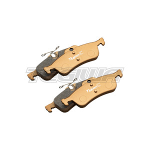 MUGEN COMPETITION REAR BRAKE PADS HONDA CIVIC TYPE R FK2 15+