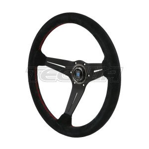 NARDI DEEP CORN SUEDE LEATHER STEERING WHEEL 330MM