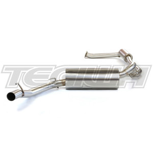 TEGIWA 70MM CAT BACK EXHAUST HONDA CIVIC TYPE R FN2 07-11