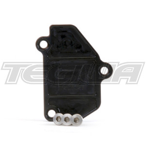 SKUNK2 VTEC BLOCK OFF PLATE BLACK HONDA B-SERIES