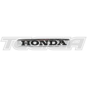 GENUINE HONDA CHROME HONDA FRONT WING BADGE S2000