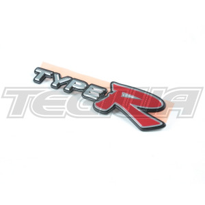 GENUINE HONDA REAR TYPE R BADGE CIVIC TYPE R EP3 01-06