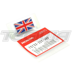 GENUINE HONDA UNION JACK FLAG EMBLEM BADGE HONDA CIVIC EP3 FN2 FK2 FK8