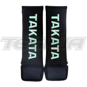 "TAKATA 3"" HARNESS SHOULDER PADS BLACK"