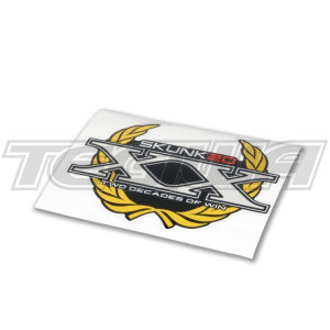 SKUNK2 20TH ANNIVERSARY DECAL BRUSHED FINISH
