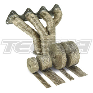 DEI PERFORMANCE THERMAL HEAT EXHAUST WRAP 2'' TITANIUM 010127