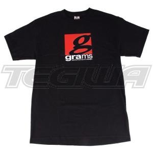 GRAMS PERFORMANCE & DESIGN LOGO TEE BLACK - XL