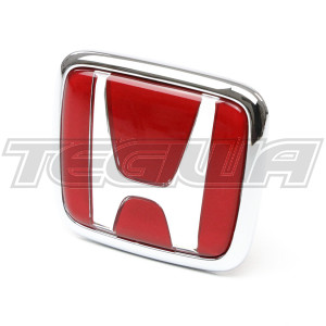 GENUINE HONDA FRONT RED H BADGE S2000 99-10