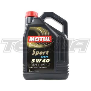 MOTUL SPORT 5W40 OIL 5L