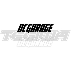 DC GARAGE OFFICIAL STICKER DECAL 20CM