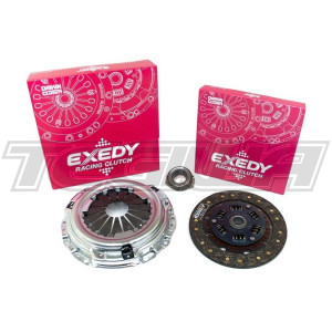 EXEDY RACING SINGLE SERIES STAGE 1 ORGANIC CLUTCH KIT HONDA CIVIC EG EK CR-X INTEGRA DB DC2 B-SERIES B16A2 B16B B18C (CABLE TYPE)