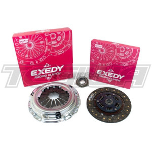 EXEDY RACING SINGLE SERIES STAGE 1 HEAVY DUTY ORGANIC CLUTCH KIT MITSUBISHI LANCER EVOLUTION IV V VI 4G63T