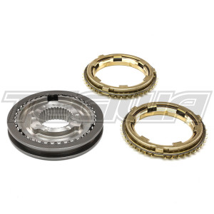 GENUINE HONDA K-SERIES 3RD-4TH SLEEVE HUB SET WITH BRASS SYNCHROS