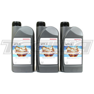 HONDA MTF 3 MANUAL GEARBOX OIL TRANSMISSION FLUID 3L 3 LITRES