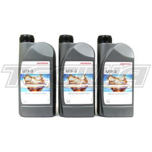 HONDA MTF 3 MANUAL GEARBOX OIL TRANSMISSION FLUID 3L 3 LITRES