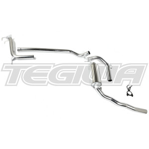 MARTELIUS CAT BACK EXHAUST SYSTEM HONDA CIVIC TYPE R FN2 07-11