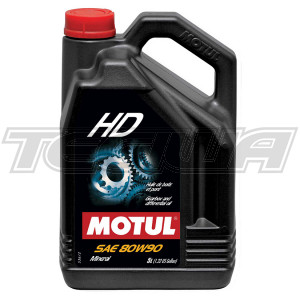 MOTUL HD 80W90 MINERAL GEAR OIL