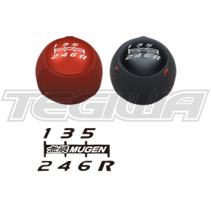 MUGEN LEATHER GEAR SHIFT KNOB