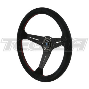 NARDI DEEP CORN SUEDE LEATHER STEERING WHEEL 350MM