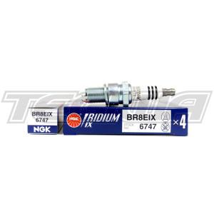 NGK IRIDIUM IX SPARK PLUGS MITSUBISHI EVO 2 3 4 5 6 7 8 4G63 BR8EIX