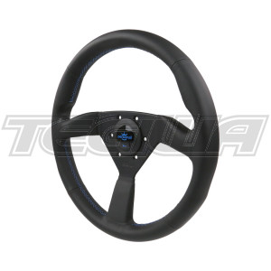 PERSONAL NEO EAGLE LEATHER STEERING WHEEL 350MM