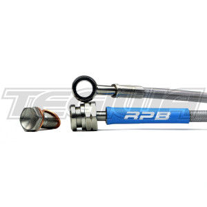 RACING PERFORMANCE BRAKE LINES HOSES MITSUBISHI LANCER EVO 4 IV