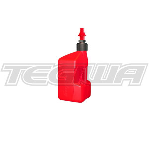 TEGIWA 20 LITRE TUFF JUG - RED/RED DRY BREAK CAP