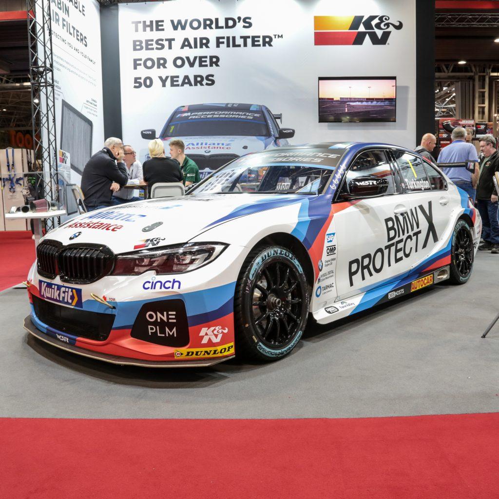 Colin Turkington's championship winning BMW 3 Series