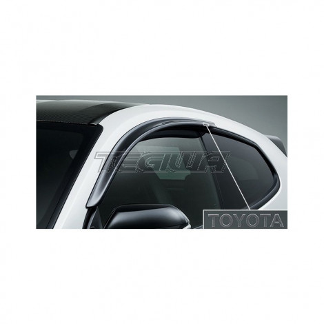 Genuine Toyota Door Visor Wind Deflector Set Yaris GR
