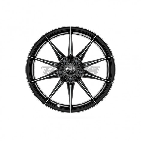 "Genuine Toyota BBS Forged 10-Spoke Circuit Pack 18"" x 8J Alloy Wheel Yaris GR 20+"