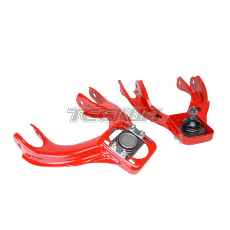 RED FRONT REAR UPPER LOWER CONTROL ARM CAMBER SUSPENSION KIT INTEGRA 94-01 DC2