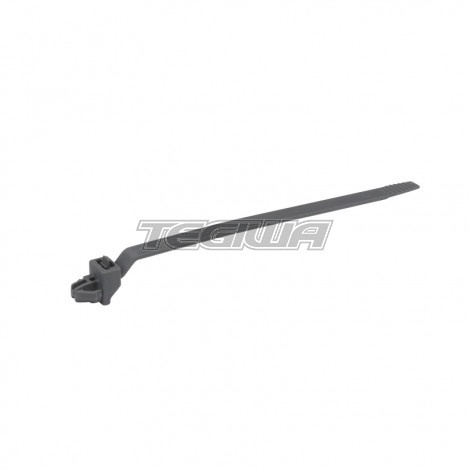 GENUINE HONDA REAR OXYGEN SENSOR CLIP CABLE TIE DARK GRAY 129.4MM VARIOUS MODELS