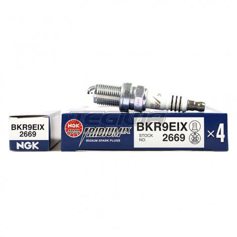 NGK LASER IRIDIUM SPARK PLUGS HEAT 9 BKR9EIX   Tegiwa Imports