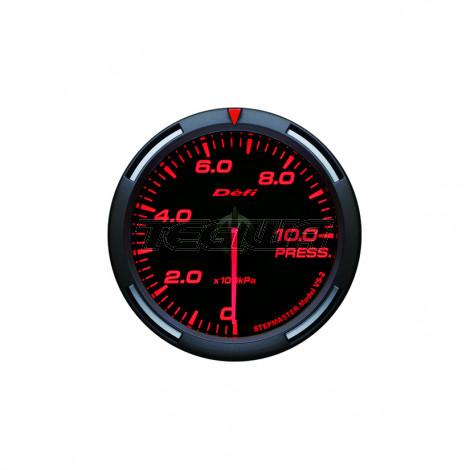 DEFI 52MM RACER GAUGES RED